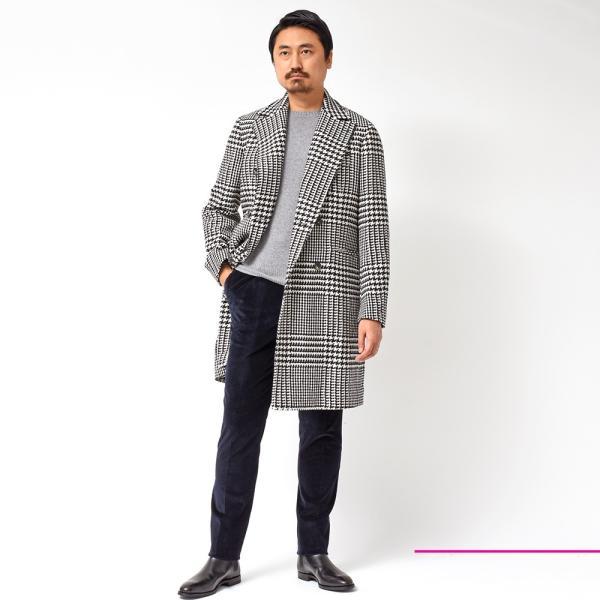 PT01(ピーティーゼロウーノ)Orient Heights コットン ストレッチ コーデュロイ 1プリーツ パンツ GENTLEMAN FIT|realclothing|02
