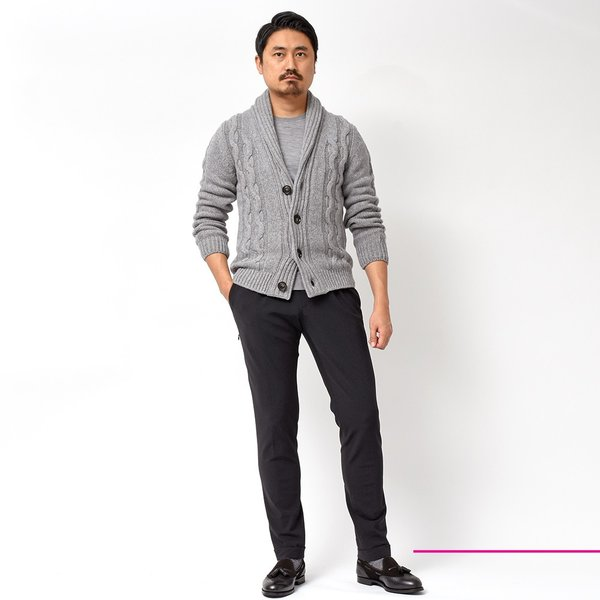 PT01(ピーティーゼロウーノ)KULT BETA ナイロン ストレッチ パッカブル 1プリーツ パンツ【SALE 40%OFF】|realclothing|02