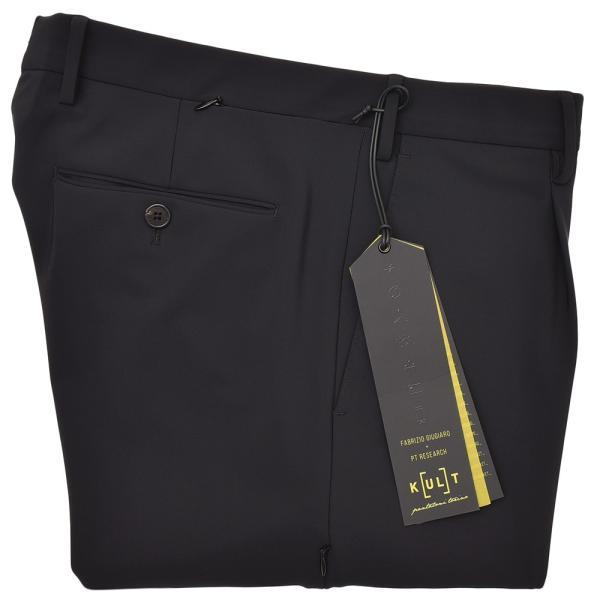 PT01(ピーティーゼロウーノ)KULT BETA ナイロン ストレッチ パッカブル 1プリーツ パンツ【SALE 40%OFF】|realclothing|15