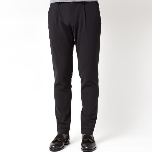 PT01(ピーティーゼロウーノ)KULT BETA ナイロン ストレッチ パッカブル 1プリーツ パンツ【SALE 40%OFF】|realclothing|03