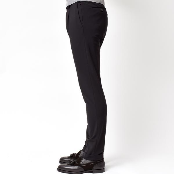 PT01(ピーティーゼロウーノ)KULT BETA ナイロン ストレッチ パッカブル 1プリーツ パンツ【SALE 40%OFF】|realclothing|05