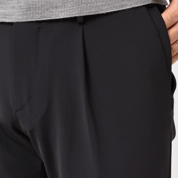 PT01(ピーティーゼロウーノ)KULT BETA ナイロン ストレッチ パッカブル 1プリーツ パンツ【SALE 40%OFF】|realclothing|06