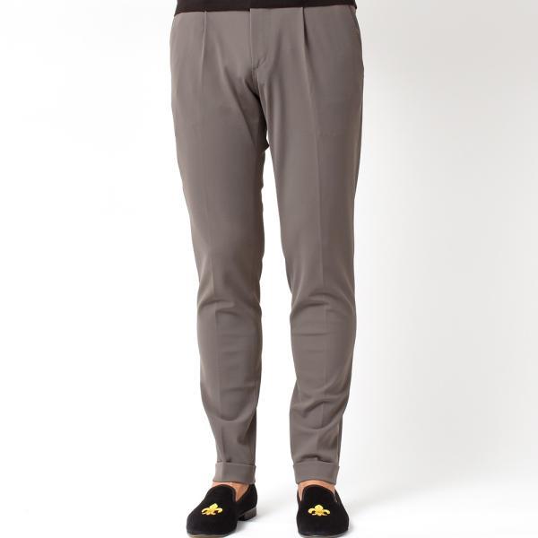 PT01(ピーティーゼロウーノ)KULT BETA ナイロン ストレッチ パッカブル 1プリーツ パンツ【SALE 40%OFF】|realclothing|09