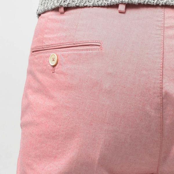 PT TORINO ピーティー トリノ コットン ストレッチ シャンブレー ノープリーツショートパンツ BERMUDA【MORE SALE 30%OFF】|realclothing|07