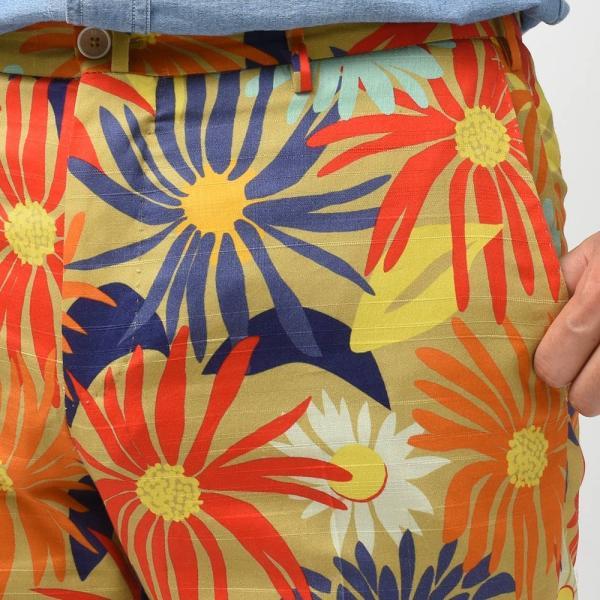 PT TORINO ピーティー トリノ コットン ジャガード  ボタニカル ノープリーツショートパンツ BERMUDA【MORE SALE 30%OFF】|realclothing|06