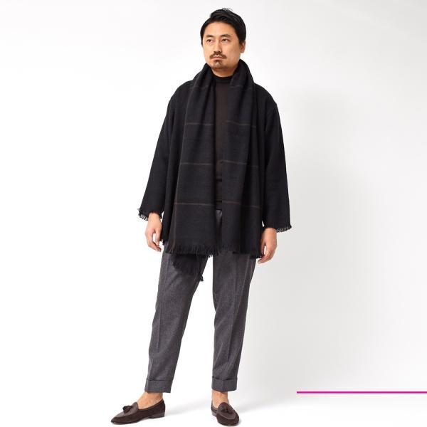 COMOLI(コモリ)×Norlha(ノラ)ヤクウール ボタンレス ニットカーディガン realclothing 02