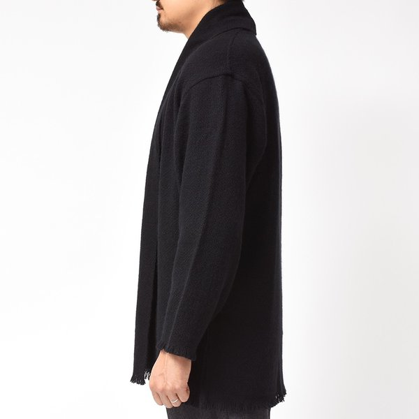 COMOLI(コモリ)×Norlha(ノラ)ヤクウール ボタンレス ニットカーディガン realclothing 05