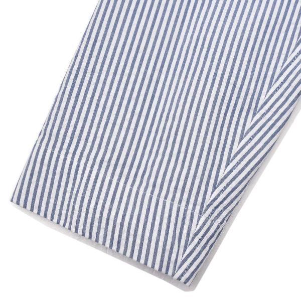 LARDINI ラルディーニ AMAJ コットン シアサッカー ストライプ シングル2Bシャツジャケット realclothing 09