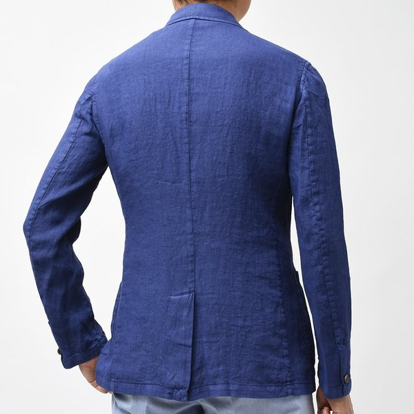 Matteucci マテウッチ MONZA リネン ソリッド シングル2Bシャツジャケット|realclothing|04