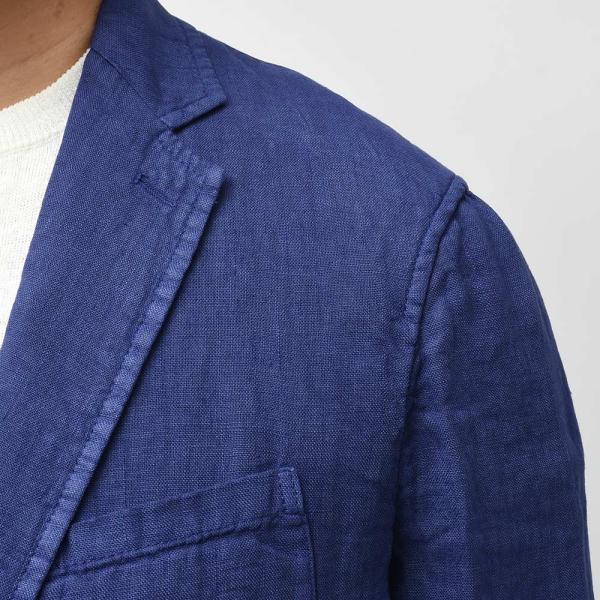 Matteucci マテウッチ MONZA リネン ソリッド シングル2Bシャツジャケット|realclothing|07