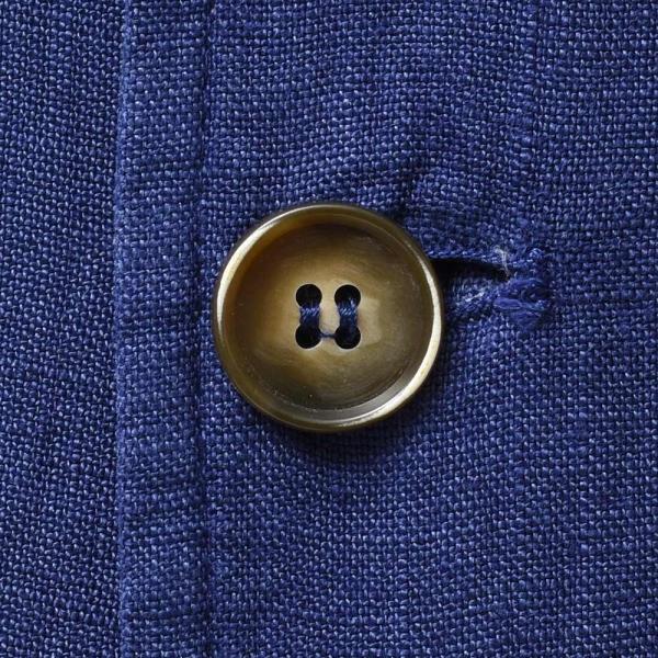 Matteucci マテウッチ MONZA リネン ソリッド シングル2Bシャツジャケット|realclothing|08