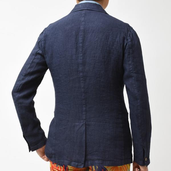Matteucci マテウッチ MONZA リネン ソリッド シングル2Bシャツジャケット|realclothing|10