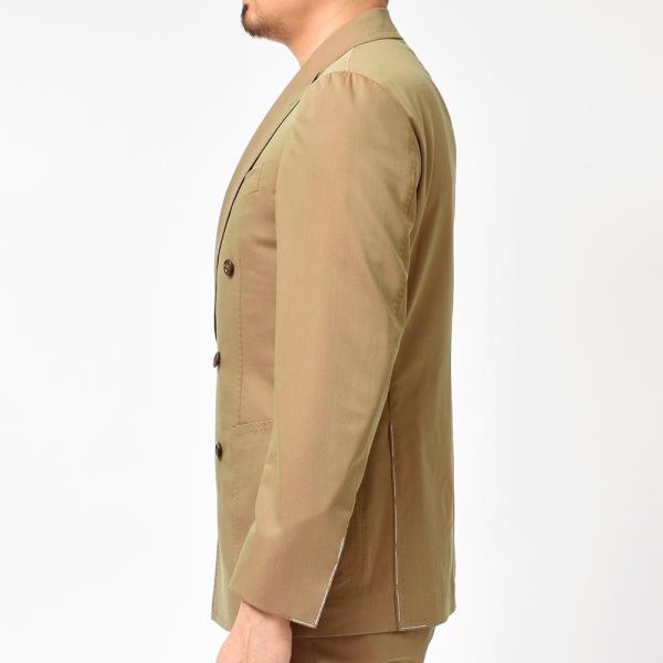 Stile Latino スティレ ラティーノ LEO ヴァージンウール コットン ソラーロ セットアップ ダブル6Bジャケット|realclothing|05