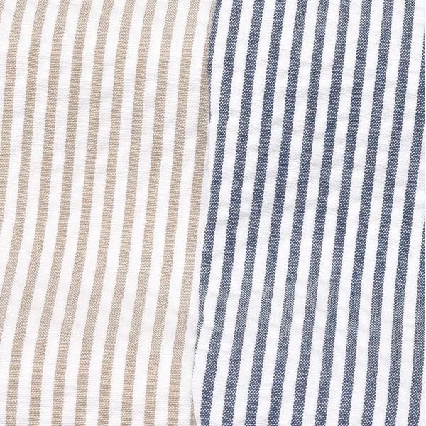 LARDINI(ラルディーニ)コットン シアサッカー ストライプ シングル2Bシャツジャケット|realclothing|02
