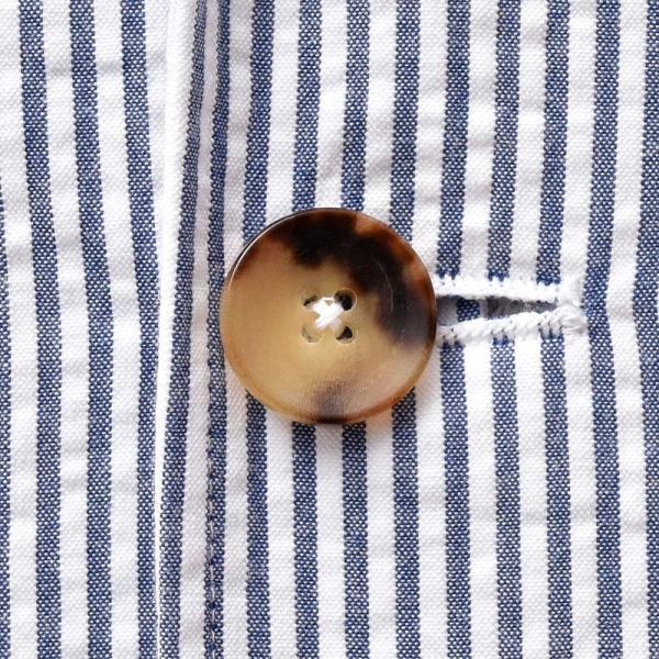 LARDINI(ラルディーニ)コットン シアサッカー ストライプ シングル2Bシャツジャケット|realclothing|16