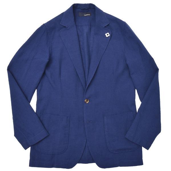 LARDINI(ラルディーニ)コットン リネン シングル2Bシャツジャケット realclothing