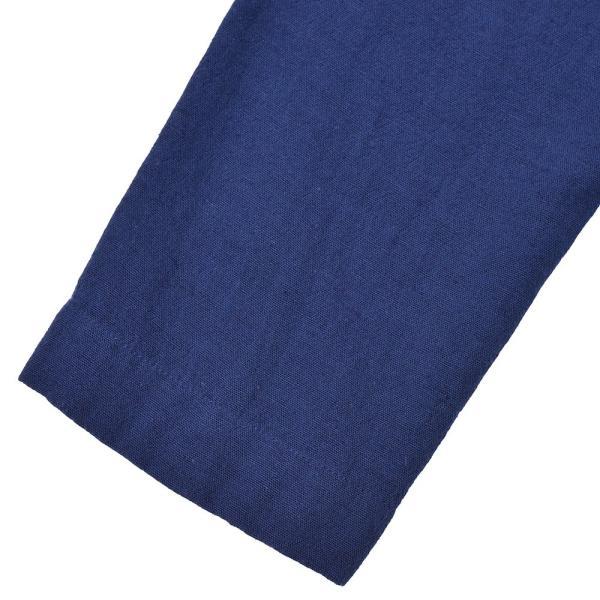 LARDINI(ラルディーニ)コットン リネン シングル2Bシャツジャケット realclothing 03
