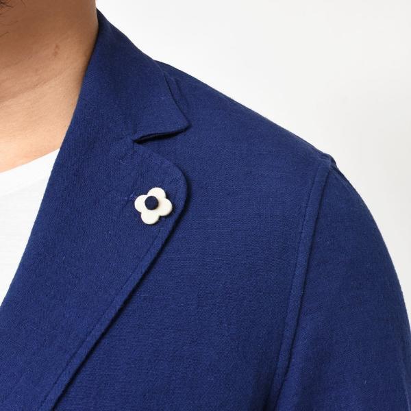 LARDINI(ラルディーニ)コットン リネン シングル2Bシャツジャケット realclothing 08