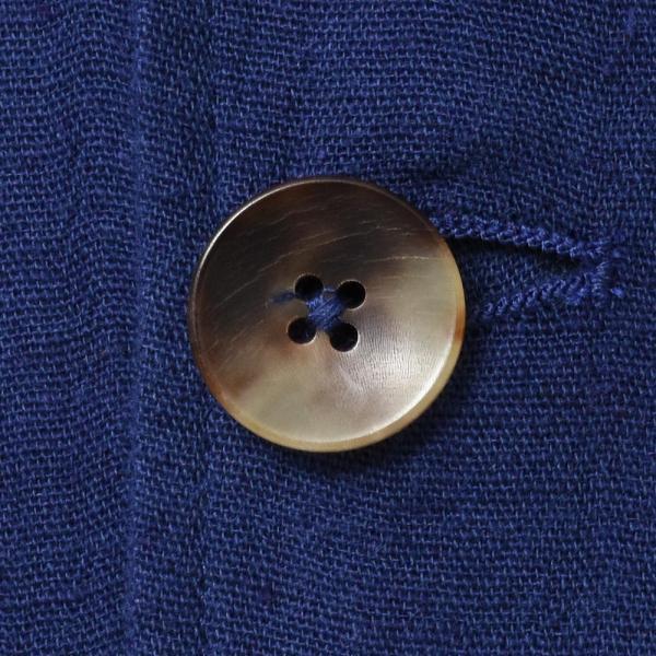 LARDINI(ラルディーニ)コットン リネン シングル2Bシャツジャケット realclothing 09