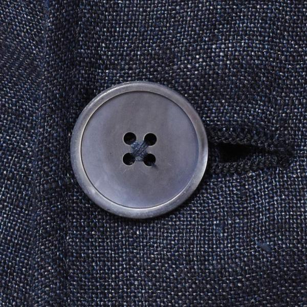 LARDINI(ラルディーニ)リネン メランジ ダブル4Bシャツジャケット|realclothing|09
