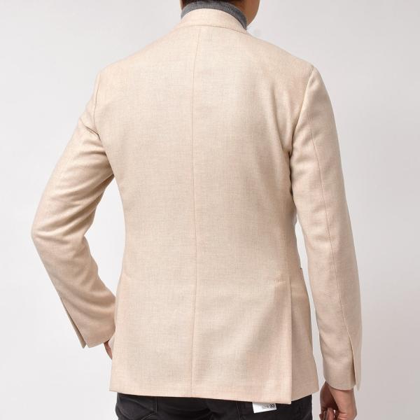 LARDINI(ラルディーニ)ラムズウール ホップサック ダブル6Bジャケット|realclothing|05