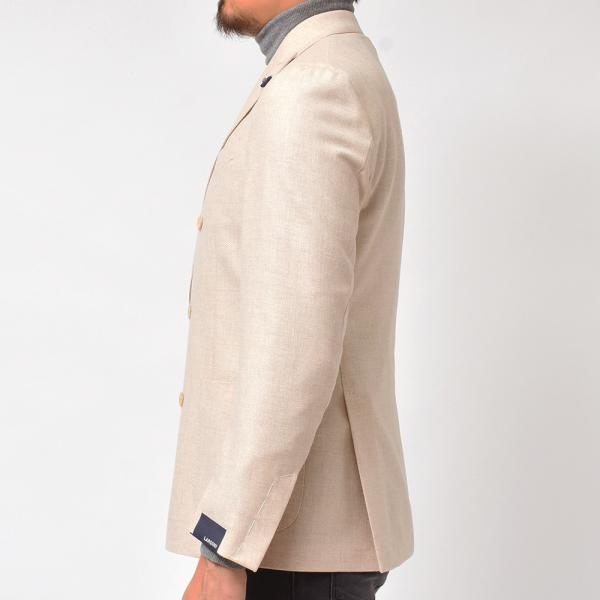 LARDINI(ラルディーニ)ラムズウール ホップサック ダブル6Bジャケット|realclothing|06