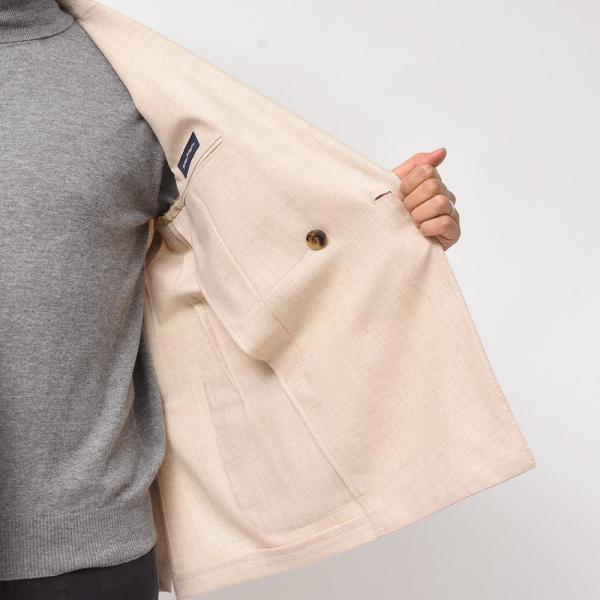 LARDINI(ラルディーニ)ラムズウール ホップサック ダブル6Bジャケット|realclothing|07