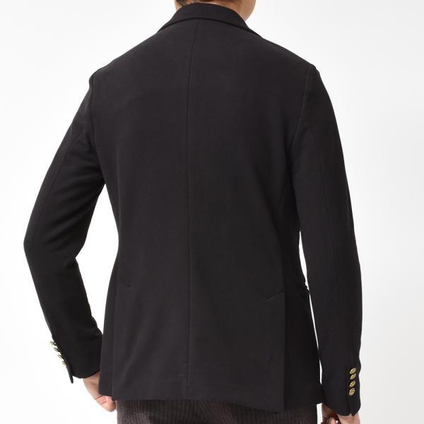 CIRCOLO 1901 チルコロ コットン ストレッチ ジャージー メタルボタン ピークド シングル2Bジャケット|realclothing|04