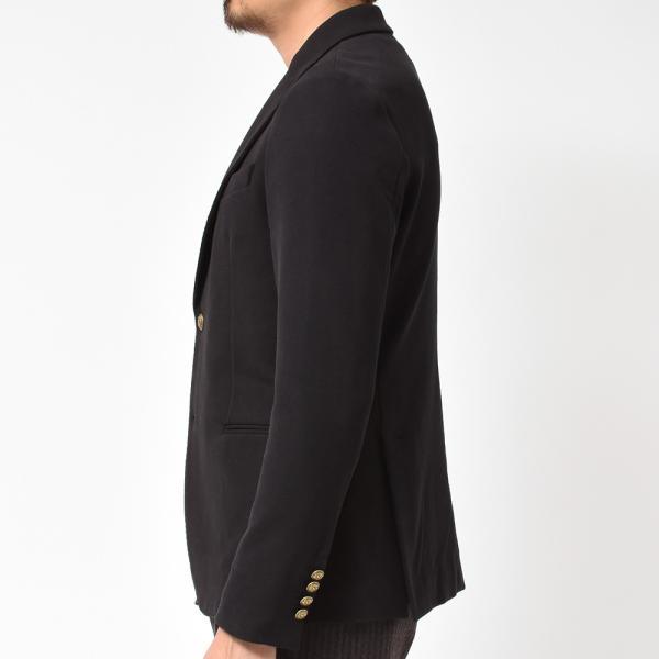 CIRCOLO 1901 チルコロ コットン ストレッチ ジャージー メタルボタン ピークド シングル2Bジャケット|realclothing|05