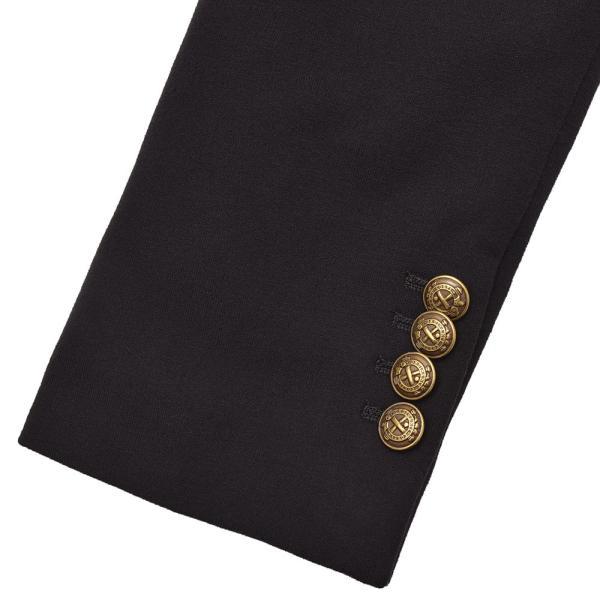 CIRCOLO 1901 チルコロ コットン ストレッチ ジャージー メタルボタン ピークド シングル2Bジャケット|realclothing|09