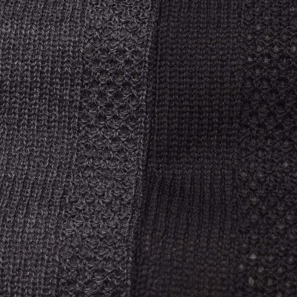 LARDINI ラルディーニLIKNIT ライクニット ウール ポリエステル ストライプ シングル3Bニットジャケット|realclothing|12