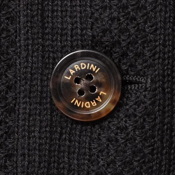 LARDINI ラルディーニLIKNIT ライクニット ウール ポリエステル ストライプ シングル3Bニットジャケット|realclothing|08