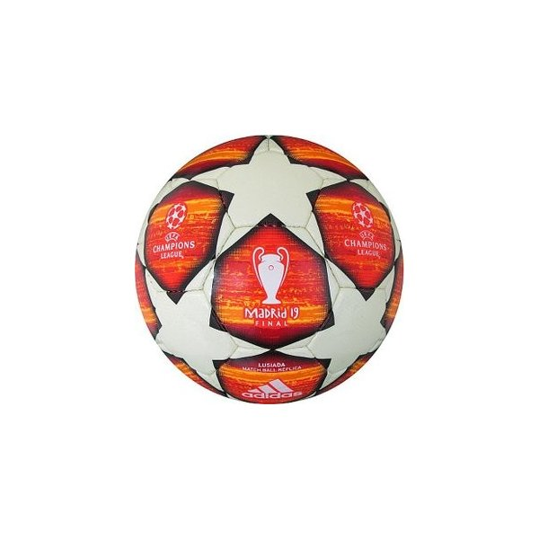 UEFA チャンピオンズリーグ アディダス adidas 18-19 フィナーレ マドリード ルシアーダ レプリカ サッカーボール5号球 AF5401MA レアルスポーツ|realsports