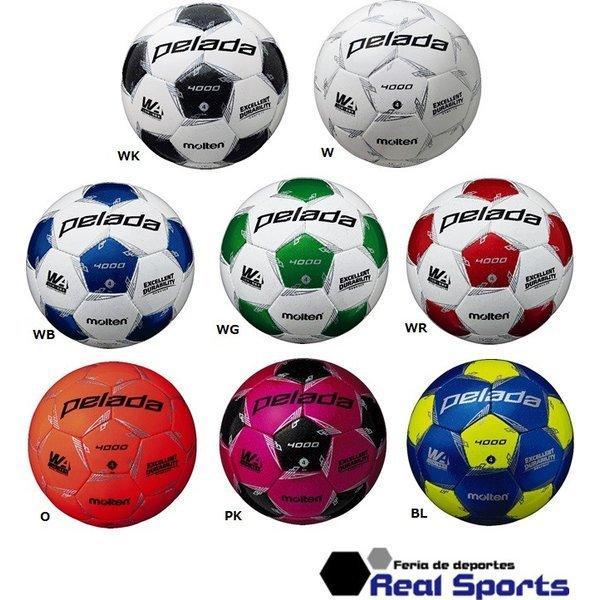 molten サッカーボール 4号球 ペレーダ4000 F4L4000 小学生用 手縫い 検定球 第5世代 モルテン レアルスポーツ|realsports