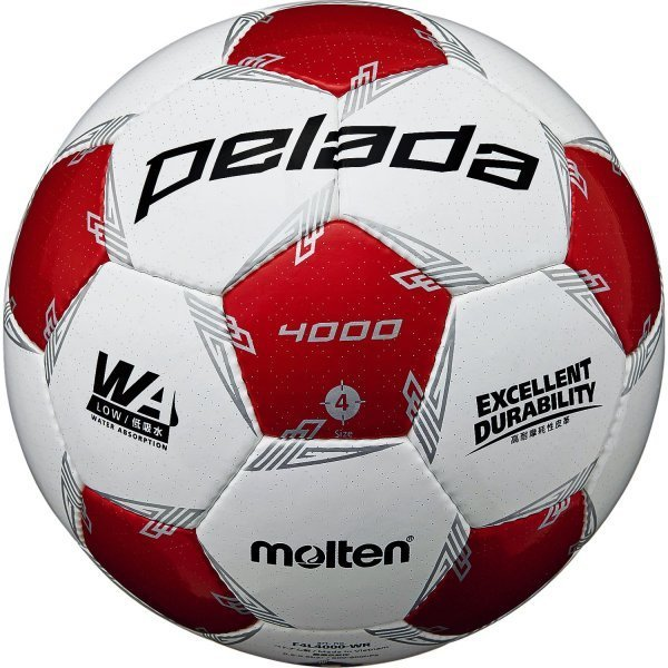 molten サッカーボール 4号球 ペレーダ4000 F4L4000 小学生用 手縫い 検定球 第5世代 モルテン レアルスポーツ|realsports|06
