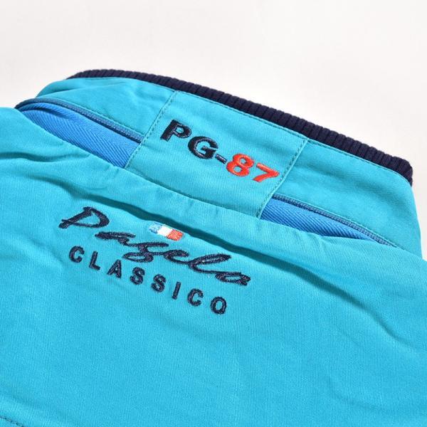 パジェロ PAGELO 長袖 ブルゾン メンズ 2020春夏 ボーダー ロゴ 01-3112-07|realtree|10