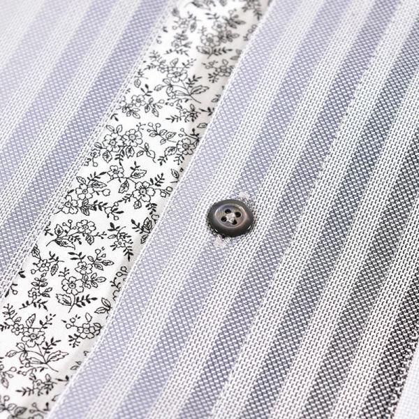 パジェロ PAGELO 長袖 カジュアルシャツ メンズ 2020春夏 ストライプ ロゴ 04-1141-07|realtree|05