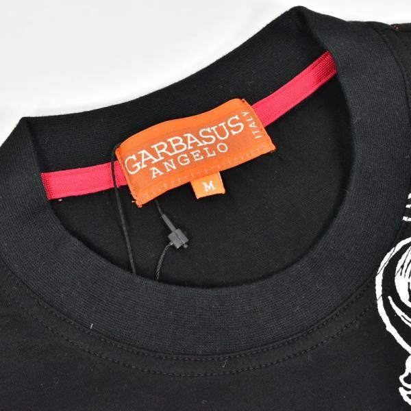 アウトレット ANGELO GARBASUS アンジェロガルバス 半袖カットソー 薄手 プリント イカリマーク ロゴアップリケ 73-2502-03-05|realtree|04