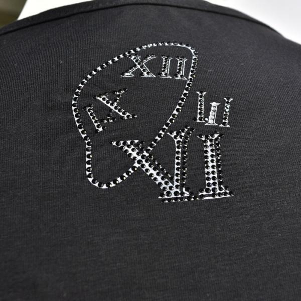SALE 30%OFF ウザリス USUALIS 長袖Tシャツ メンズ 春夏 ストレッチ アップリケ ラインストーン 91-1501-60|realtree|09