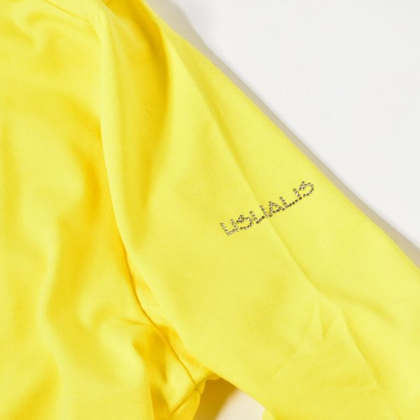 SALE 30%OFF ウザリス USUALIS 長袖Tシャツ メンズ 春夏 ストレッチ ロゴ スター ラインストーン 91-1502-60|realtree|20
