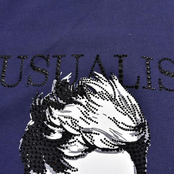 SALE 30%OFF ウザリス USUALIS 長袖Tシャツ メンズ 春夏 ストレッチ 袖プリント 人物 ラインストーン 91-1505-60|realtree|15