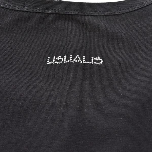 SALE 30%OFF ウザリス USUALIS 長袖Tシャツ メンズ 春夏 ストレッチ 袖プリント 人物 ラインストーン 91-1505-60|realtree|09
