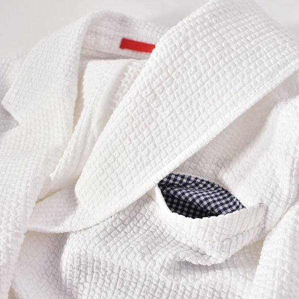 パジェロ PAGELO テーラードジャケット メンズ 2020春夏 シアサッカー 背抜き 03-4101-07c realtree 07