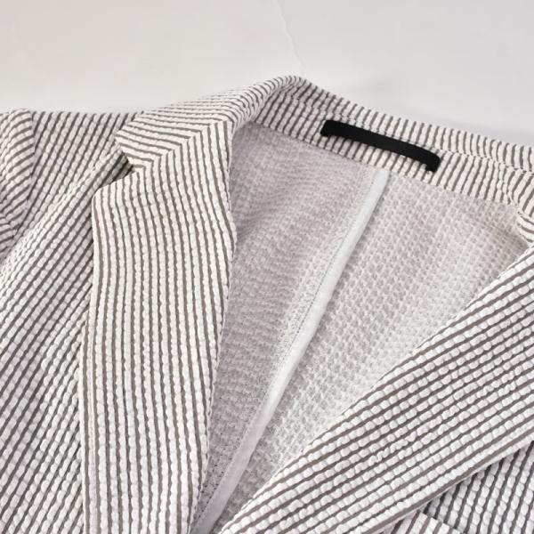 パジェロ PAGELO テーラードジャケット メンズ 2020春夏 シアサッカー 背抜き 03-4101-07c realtree 08