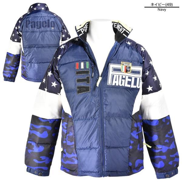 大きいサイズ パジェロ PAGELO ダウンジャケット メンズ 秋冬 星 迷彩 ロゴ 3L 95-3111-071b|realtree|02