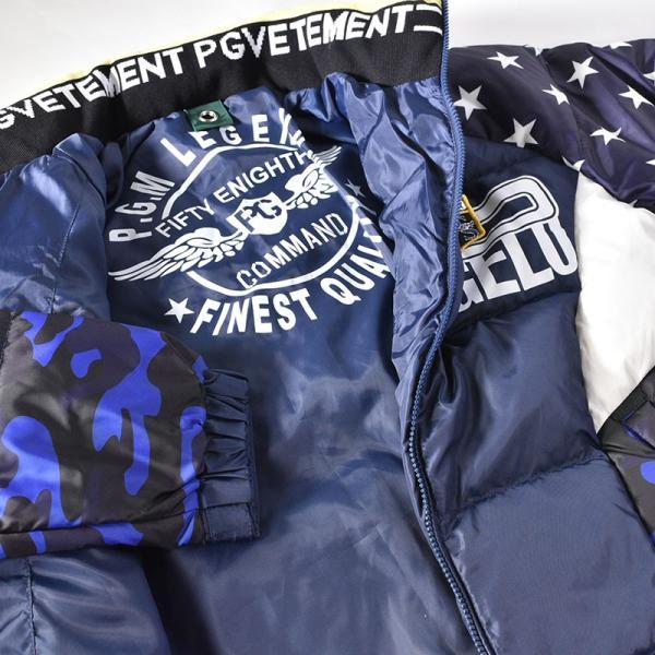 大きいサイズ パジェロ PAGELO ダウンジャケット メンズ 秋冬 星 迷彩 ロゴ 3L 95-3111-071b|realtree|04