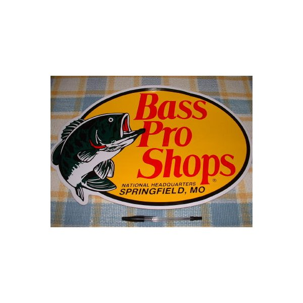 RoomClip商品情報 - BassProShops/バスプロショップ!楕円ステッカー(特大) ※サイズが大きいので、ゆうパック便のみの発送となります