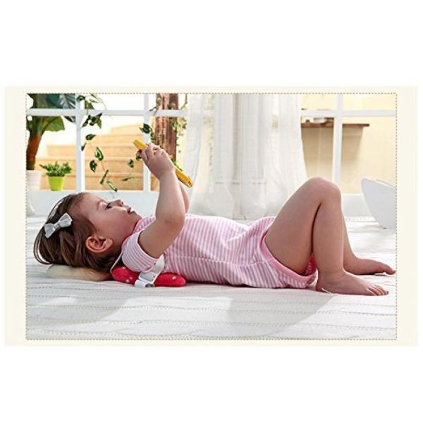赤ちゃん 保護 クッション 後頭部 天使のパッド 安全パッド ベビー 転倒 吸収 クッション セーフティ 枕 リュック レッド NS-BABY-GUARD-RD rebias 06