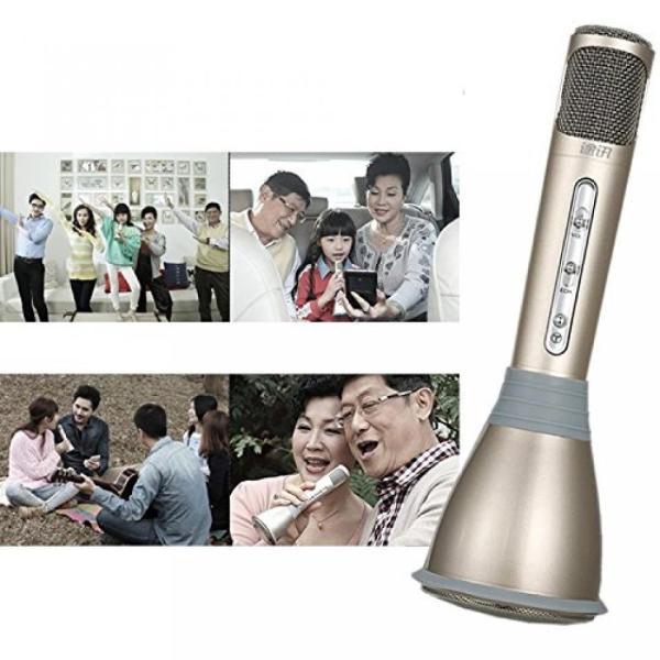 スマホ カラオケ ポータブル マイク スピーカー Bluetooth パーティー エコー NS-KARAMIC|rebias|03