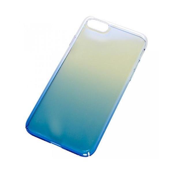iPhone7 7Plus 用 グラデーション ケース 保護ケース マジョーラ スマートフォン iPhone7用ブルー NS-MAJOCASE-BL-N rebias